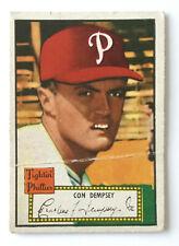 1952 Topps Baseball Card • Con Dempsey • #44