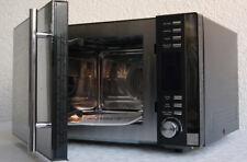3 in 1 Mikrowelle mit Grill, Umluft, 25l, 900 W, schwarz, 902 TOP