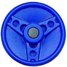 Solid Plastic Steering Wheel BLUE HEAVY DUTY Play Cubby Accessories Equipment