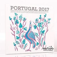 Set BU PORTUGAL 2017 - Série 1 cent à 2 euros verion Brillant Universel