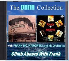 MZ 161 - Frank Wojnarowski & His Orchestra - Climb Aboard With Frank - POLKA CD