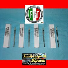 KIT 4 CANDELETTE ORIGINALI FIAT LANCIA 46796050 MUSA YPSILON 1.3 MULTIJET MJT