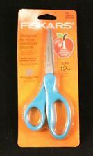 """Fiskars - Student Scissors - 7"""" Length - Pointed -Lt Blue -Stainless Steel Blade"""