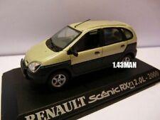 RE11E voiture 1/43 M6 Universal Hobbies : RENAULT scénic RX 4 2.0L 2000
