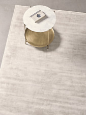 Cox & Cox Luna Living Room Modern Medium Putty Rug - RRP £475