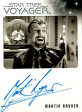 The Quotable Star Trek Voyager Martin Rayne as Dr. Chaotica Auto Card