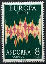 Andorra 1972 SG#67, 8p Europa, CEPT MNH #A96685