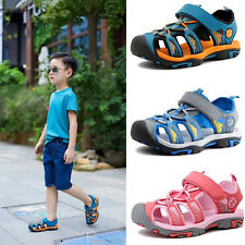 Summer Beach Boys Kids Toddler Sandals Closed Toe Athletic Outdoor Sport Sandals
