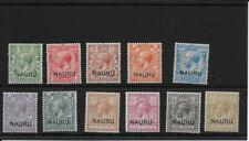 NAURU  1916  SG1/12  lightly mounted mint