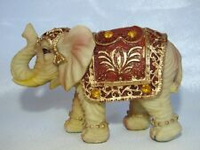 Ivory Color Elephant Figurine