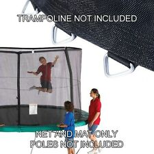 14ft Trampoline Net & Mat (147in/72 v-rings) Combo for Orbounder OR1413