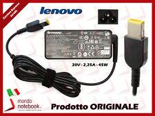 Alimentatore Originale 45W 20V 2,25A Lenovo Ultrabook Yoga 500