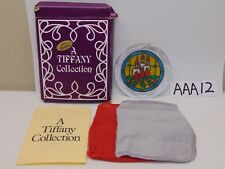 VINTAGE CHRISTMAS ORNAMENT AMSUN-THAYER-A TIFFANY COLLECTION-CANDLE FT-1 IN BOX