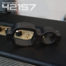 Seven Sins 42157 Microphone Dual Recording Clip Shure SM57 Sennheiser MD 421-II