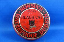 NONSUCH BLACK CAT SHOE POLISH TIN - TORONTO