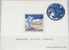 MALI 1973 Block 7 S/S C177 Apollo 17 Moon Mission Mond Space Weltraum MNH