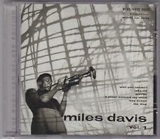 MILES DAVIS - volume 1 CD