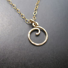 "Mini Swirl Interchangeable Necklace 18"" FREE DROP"