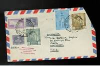 1965 Nepal airmail cover to USA