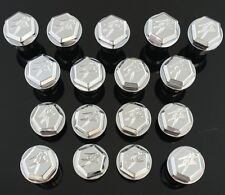 17 Piece Hayabusa Chrome Engraved 3D Hex Fairing Bolts! 08-09-10-11-12-15-16-17