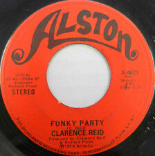 CLARENCE REID 45 Funky Party / Winter Man ALSTON Soul #A919