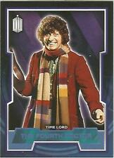 """Topps Doctor Who 2015 - No. 4 """"The Fourth Doctor"""" Blue Parallel Card #179/199"""
