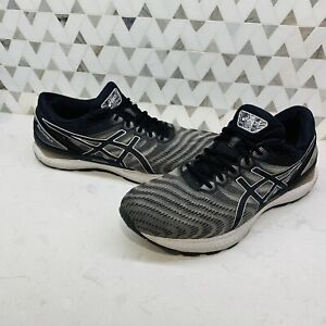 Asics Mens Gel Nimbus 22 1011A680 Black Running Shoes Lace Up Low Top Size 13