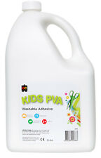 EC Craft Glue PVA Kids Water Based Washable Adhesive Non Toxic 5 Litre 5L