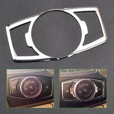 Chrome Fog Head Light Switch Button Cover Trim for Ford Escape Kuga 2013 2014