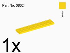 LEGO 1x Platte Bauplatte 2x10 Noppen gelb 3832