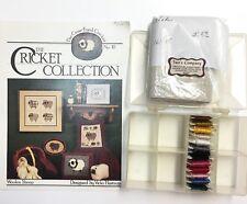 The Cricket Collection Cross Stitch Pattern Woolen Sheep Aida Cloth Cotton Floss