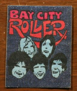 Vintage 70s Bay City Rollers Sticker Band Concert Tour