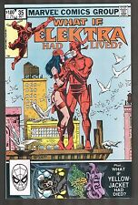 What if #35 ~ Electra had lived / Bullseye / Kingpin / Daredevil ~ 1982 (9.2) WH