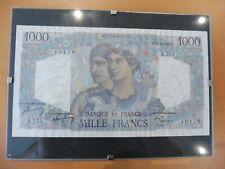 SUPERBE SOUVENIR BILLET FRANCE SOUS VERRE - 1000 FRS  A OFFRIR OU COLLECTIONNER