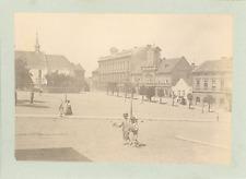 Allemagne, Ville du Bassin Houiller de la Ruhr à identifier  Vintage silver prin