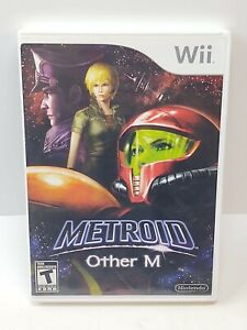 Metroid Other M (Nintendo Wii, 2010) Complete Very Clean
