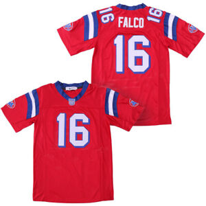 The Replacements Shane Falco #16 Football Jerseys Sentinels Red White Sewn
