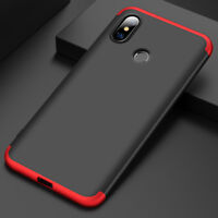 For Xiaomi Mi 8/8 Se Slim 3in1 Hybrid Shockproof Armor Hard Skin Case Back Cover