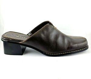 Bare Traps Brown Leather Women's Platform Sandals US 7.5, EUR 38.5, 24.6 cm
