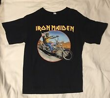Authentic Iron Maiden Somewhere Back In Time Tour 2008 Concert Shirt M Route 666