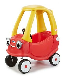 Toddler Toy Car Ride Little Tikes Cozy Coupe Develop Motor Skills Durable Safe