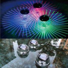 Floating Solar Color Change LED Disco Light Show Swimming Pool Hot Tub Spa Lamp