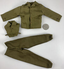 21st Century Toys WWII US MILITARY 3RD INFANTRY DIVISION UNIFORM 1/6 Scale Set
