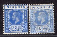 NIGERIA 1914/27 STAMP Sc. # 4/4a MH
