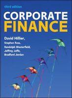 Corporate Finance European Edition, Hillier, David, 9780077173630