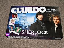 Cluedo: Sherlock Edition-Clásico Juego De Misterio-en en muy buena Condición (Gratis Reino Unido P&p)