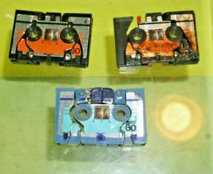 Original Transformers G1 Autobot Cassette Tapes Eject &  Rewind Lot of 3 Read!!