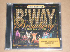 THE BEST OF BROADWAY, MY FAIR LADY, FUNNY GIRL, HAIR) - CD SIGILLATO (SEALED)