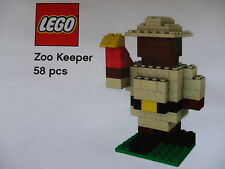 LEGO® Pick-a-brick Modell Zoowärter Neu in OVP mit BA  pickable model Zookeeper