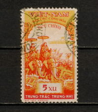 (YYAZ 451) Vietnam 1959 USED Mich 95 Scott 93 Trung Sisters, Elephants
